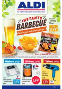 Prospectus Aldi Argenteuil : Instants Barbecue