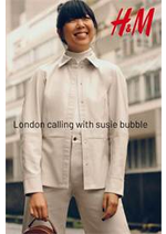 Catalogues et collections H&M : London calling