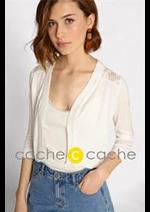 Prospectus Cache Cache : Collection Gilet Femme