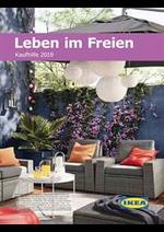 Prospectus IKEA : Leben im Freien