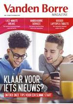 Prospectus Vanden Borre : Vanden Magazine
