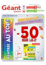 Prospectus Géant Casino : Rentrée au top !