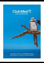 Prospectus club med voyage : CLUB MED RESORTS NEIGE & SOLEIL