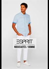 Prospectus Esprit Namur : Nouveautés / Homme