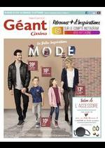 Prospectus Géant Casino : Les belles inspirations mode