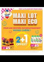 Promos et remises  : Maxi Lot Maxi Eco