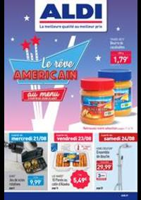 Prospectus Aldi Champigny-sur-Marne : Le réve Americain