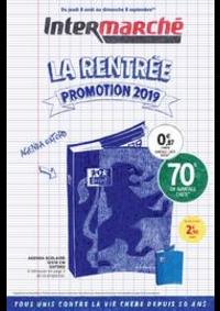Promos et remises Intermarché Super : La rentrée promotion 2019