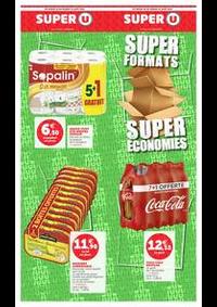 Bons Plans Super U ECOUEN : SUPER FORMATS SUPER ÉCONOMIES