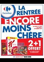 Promos et remises Carrefour : LA RENTRÉE ENCORE MOINS CHÈRE