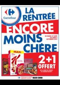 Promos et remises Carrefour Drancy : LA RENTRÉE ENCORE MOINS CHÈRE