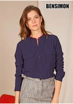 Catalogues et collections Bensimon : Tops & Chemises