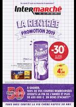 Promos et remises Intermarché Super : LA RENTREE PROMOTION 2019