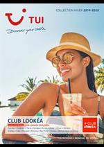 Prospectus TUI : Brochure TUI Club Lookéa Hiver 2019/2020