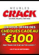 Bons Plans  : Chèques Cadeau de 100€