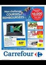 Promos et remises Carrefour : Mon challenge courses remboursées !