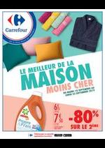 Prospectus Carrefour : LE MEILLEUR DE LA MAISON MOINS CHER
