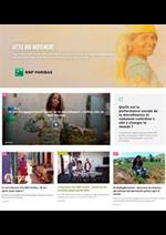 Journaux et magazines BNP Paribas : Catalogue BNP Paribas