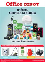 Prospectus Office DEPOT : Votre catalogue special Services Géneraux !