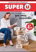 Prospectus Super U : POUR UN CHEZ VOUS QUI VOUS RESSEMBLE