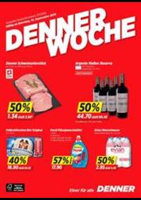 Promos et remises DENNER Bern - Brunnmattstrasse : Denner Woche KW 37