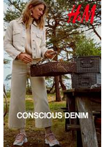 Catalogues et collections H&M : Conscius Denim