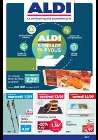 Prospectus Aldi Delle : ALDI s'engage pour vous