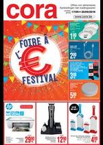 Bons Plans Cora : Foire à l'euro - Eurofestival 17-09