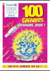 Jeux concours E.Leclerc CHAUMONT : 100 Gagnants chaque jour!