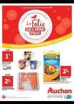 Prospectus Auchan : La folie des mini prix