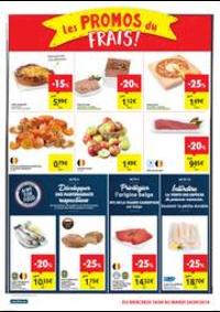 Promos et remises Carrefour Market HANNUT Rue Albert 1er : folder Carrefour Market