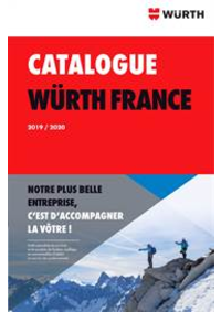 Prospectus Wurth GONESSE : Catalogue Würth 2019/2020