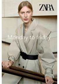 Catalogues et collections ZARA WATERLOO : Monday to friday