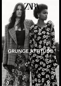 Prospectus ZARA MULHOUSE 70 RUE DU SAUVAGE : Zara Grunge attitude