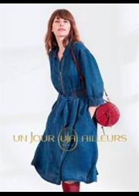 Prospectus Un jour ailleurs PARIS 33-35 RUE TRONCHET : Robe & Jupes Femme