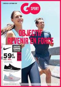 Prospectus Go Sport PARIS  Daumesnil : Objectif Revenir en Force