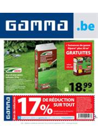Promos et remises GAMMA SINT-PIETERS-LEEUW : Gamma Acties