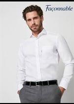 Prospectus Façonnable : Chemises Homme