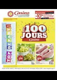 Prospectus Supermarchés Casino PANTIN : Les 100 jours Casino