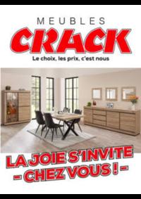 Prospectus Meubles Crack : La joie s'invite chez vous !