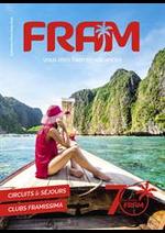 Prospectus FRAM : Automne Hiver 2019/20