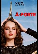 Catalogues et collections ZARA : A-Porte