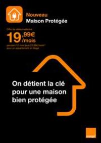 Prospectus Boutique Orange MELUN : Nouveau Maison Protégée