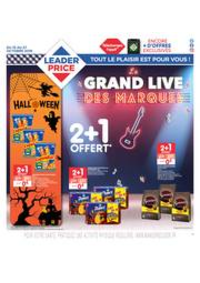 Prospectus Leader Price Épinay-sur-Seine : Le grand live des marques
