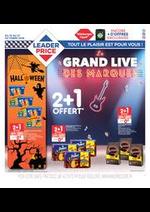 Prospectus Leader Price : Le grand live des marques