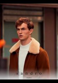 Prospectus Sandro NOGENT SUR MARNE : Collection Automne/Hiver 2019 Homme