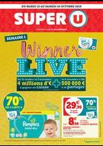 Promos et remises  : SEMAINE 1 WINNER LIVE