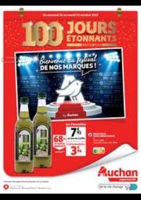 Bons Plans Auchan : 100 jours étonnants avant 2020