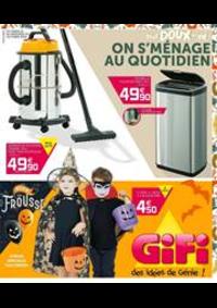 Prospectus Gifi HAUTMONT : Gifi des idées de Génie!
