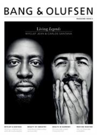 Journaux et magazines Bang & Olufsen Bruxelles : Living Legends